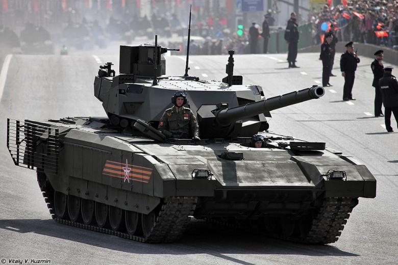 Siêu tăng Armata Nga có thể chiến đấu trên... sao Hỏa - 2
