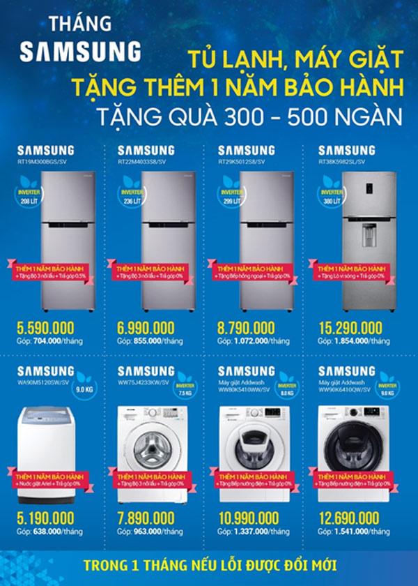 Mua Samsung nhận khuyến mãi khủng - 2