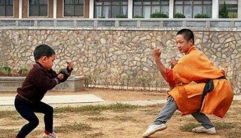 Ảnh hiếm thời niên thiếu của các sao võ thuật Trung Quốc - 12