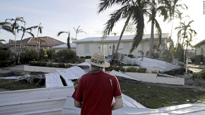 Florida tan hoang xơ xác sau khi siêu bão Irma càn quét - 3