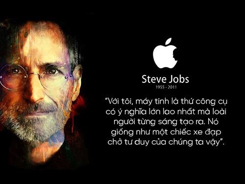 """Những câu nói nổi tiếng của """"huyền thoại"""" Steve Jobs và Tim Cook - 1"""