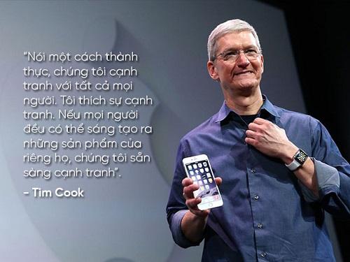 """Những câu nói nổi tiếng của """"huyền thoại"""" Steve Jobs và Tim Cook - 10"""