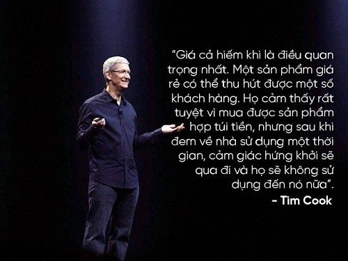 """Những câu nói nổi tiếng của """"huyền thoại"""" Steve Jobs và Tim Cook - 12"""