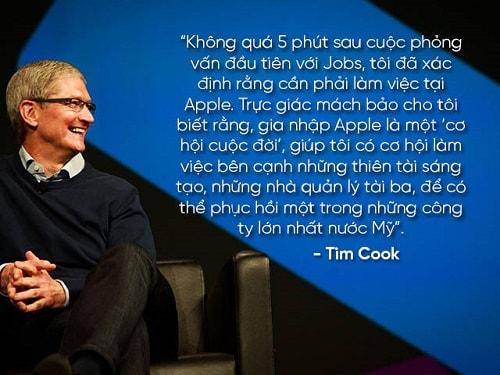 """Những câu nói nổi tiếng của """"huyền thoại"""" Steve Jobs và Tim Cook - 11"""