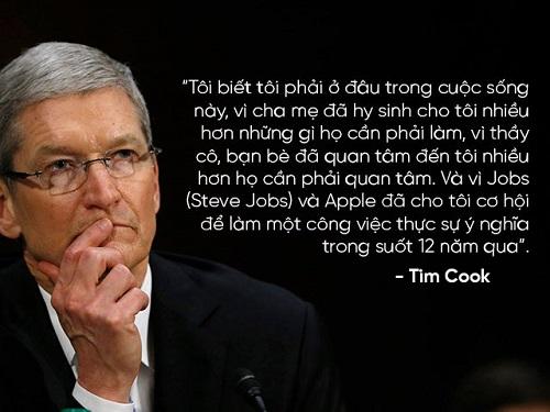 """Những câu nói nổi tiếng của """"huyền thoại"""" Steve Jobs và Tim Cook - 13"""