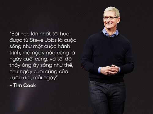 """Những câu nói nổi tiếng của """"huyền thoại"""" Steve Jobs và Tim Cook - 15"""