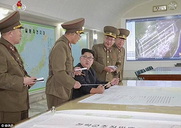 Điểm bất thường trong bản đồ tấn công đảo Guam của Triều Tiên - 1