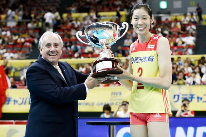 Bóng chuyền nữ số 1 thế giới: Trung Quốc vô địch, hạ Brazil - Mỹ - Nga - 5
