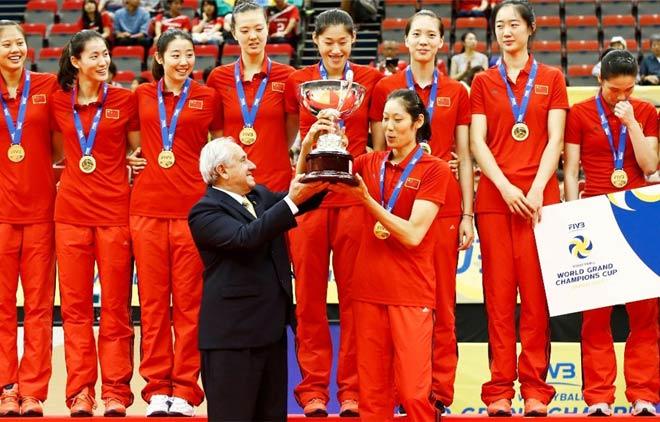 Bóng chuyền nữ số 1 thế giới: Trung Quốc vô địch, hạ Brazil - Mỹ - Nga - 2