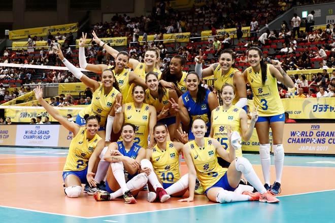 Bóng chuyền nữ số 1 thế giới: Trung Quốc vô địch, hạ Brazil - Mỹ - Nga - 4