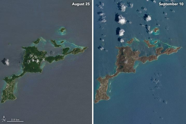 Siêu bão Irma biến cả quần đảo xanh tươi thành thảm hại thế này - 3