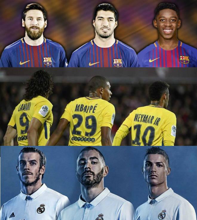 """Cúp C1: """"Tam tấu"""" 467 triệu euro thách thức quyền lực Barca, Real - 1"""