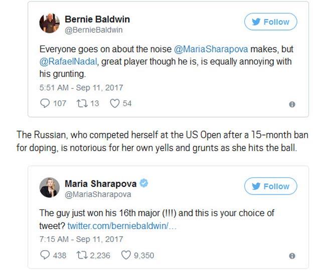 """Fan chê Nadal to mồm, mỹ nhân Sharapova """"đanh đá"""" bênh vực - 1"""