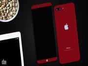 """Thời trang Hi-tech - Ngắm iPhone 8 màu đỏ """"bằng da bằng thịt"""""""