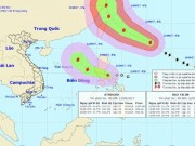 Tin tức trong ngày - Siêu bão TALIM và áp thấp nhiệt đới hoạt động gần Biển Đông
