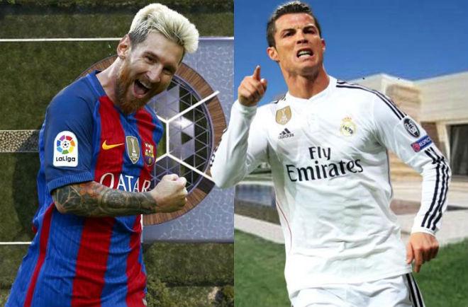 """Messi đua giải """"Bàn chân Vàng"""" 2017: Cửa duy nhất thắng Ronaldo? - 1"""