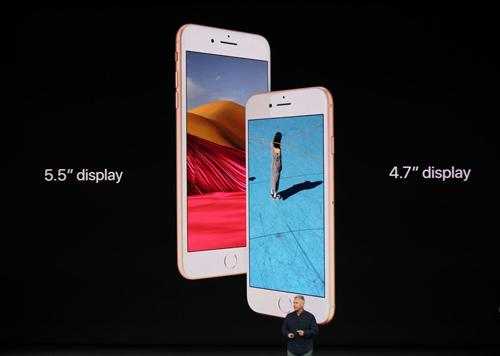 iPhone 8 và 8 Plus trình làng, nhanh hơn, chụp đẹp hơn - 2