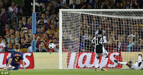 Chi tiết Barcelona - Juventus: Thành quả siêu ngọt ngào (KT) - 9