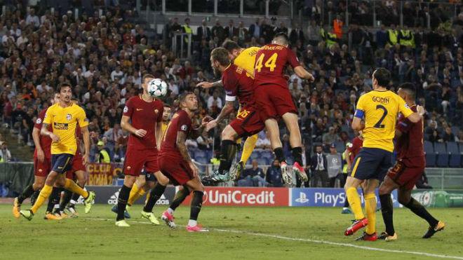 """AS Roma – Atletico Madrid: Sóng gió ở """"hang Sói"""" - 1"""