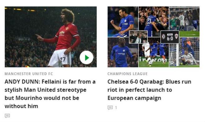Báo chí Anh: Nổ vang trời MU, Chelsea đại thắng 9 sao - 1