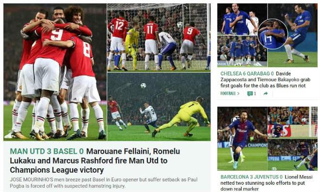 Báo chí Anh: Nổ vang trời MU, Chelsea đại thắng 9 sao - 4
