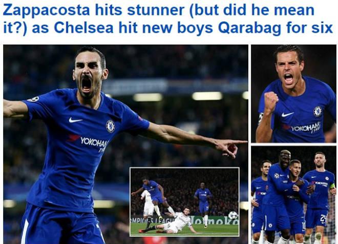 Báo chí Anh: Nổ vang trời MU, Chelsea đại thắng 9 sao - 3