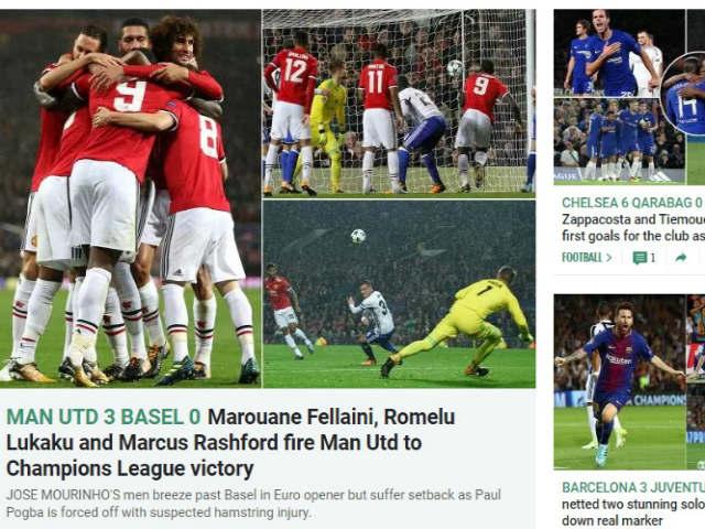 Arsenal đá Europa League, Wenger hậm hực MU đại thắng Cup C1 - 3