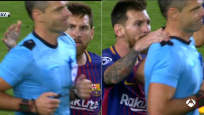 """Messi """"vùi dập"""" Juve, """"trêu"""" trọng tài như Ronaldo nhưng thoát thẻ đỏ - 4"""