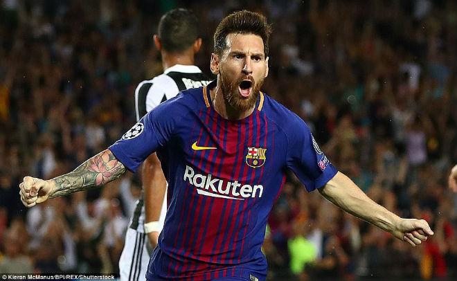 """Messi """"vùi dập"""" Juve, """"trêu"""" trọng tài như Ronaldo nhưng thoát thẻ đỏ - 1"""