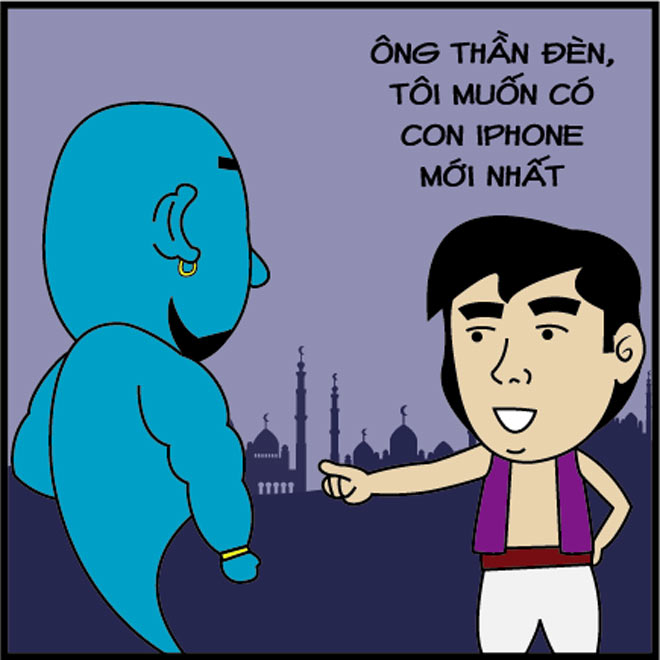 Thần Đèn vã mồ hôi hột vì iPhone X - 2