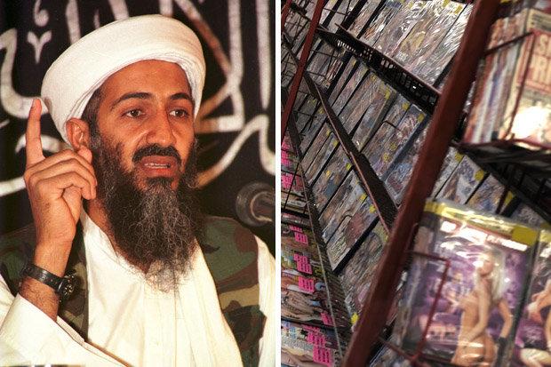 """Bin Laden tàng trữ cả kho phim """"người lớn"""" khi bị tiêu diệt - 1"""