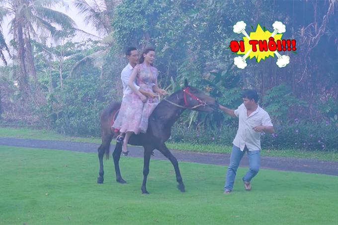 """Sự thật """"phũ phàng"""" khi Kim Lý, Hồ Ngọc Hà cưỡi ngựa trong MV 18+ - 9"""
