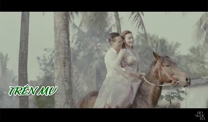 """Sự thật """"phũ phàng"""" khi Kim Lý, Hồ Ngọc Hà cưỡi ngựa trong MV 18+ - 3"""