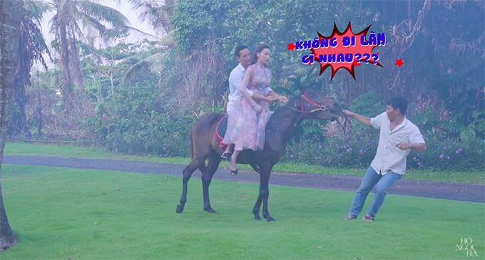"""Sự thật """"phũ phàng"""" khi Kim Lý, Hồ Ngọc Hà cưỡi ngựa trong MV 18+ - 11"""