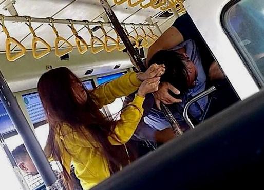 Sự thật vụ xô xát giữa đôi nam nữ và nhân viên xe buýt - 1