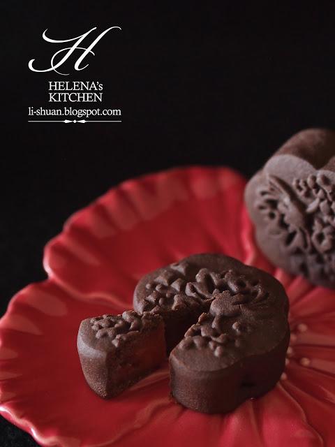 Cách làm bánh Trung thu chocolate thơm lừng, tuyệt ngon - 3
