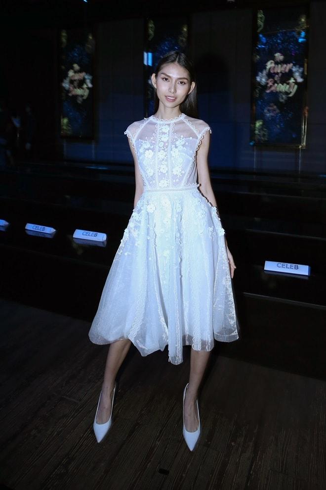 """""""Kate Moss"""" Việt hội ngộ Hoa hậu cao nhất Việt Nam tại sự kiện - 1"""