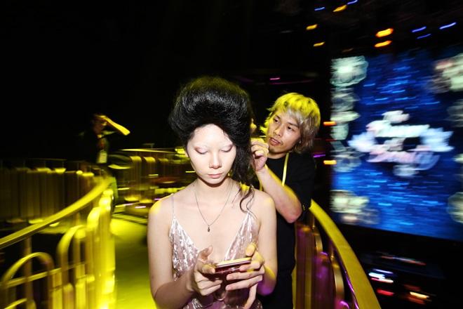 """""""Kate Moss"""" Việt hội ngộ Hoa hậu cao nhất Việt Nam tại sự kiện - 9"""