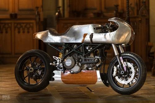Hector Ducati Hypermotard 796: Đỉnh cao của nghề thủ công - 10