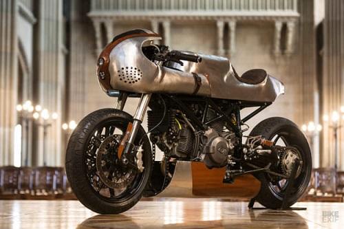 Hector Ducati Hypermotard 796: Đỉnh cao của nghề thủ công - 11