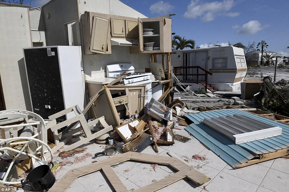 Thiệt hại khủng khiếp do siêu bão Irma ở quần đảo Mỹ - 4