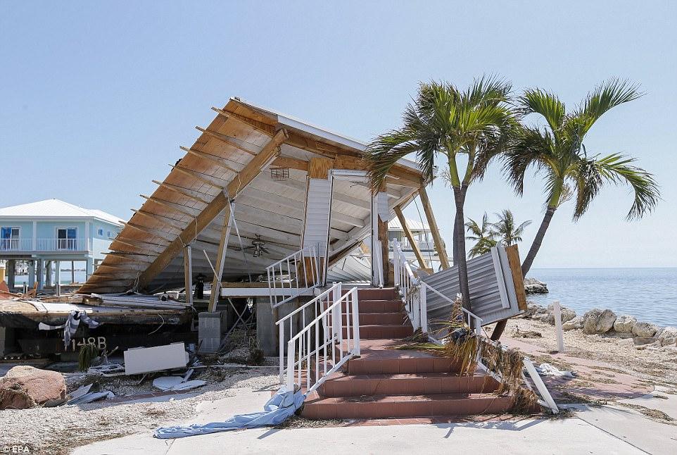 Thiệt hại khủng khiếp do siêu bão Irma ở quần đảo Mỹ - 2