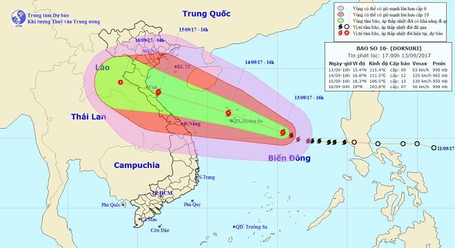 Nóng 24h qua: Bão số 10 tăng cấp, Việt Nam ra cảnh báo nguy hiểm - 1