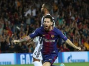 """Bóng đá - Messi """"vùi dập"""" Juve, """"trêu"""" trọng tài như Ronaldo nhưng thoát thẻ đỏ"""