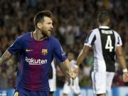Messi quá siêu phàm, ghi 2 bàn, Buffon khen hay hơn Ronaldo