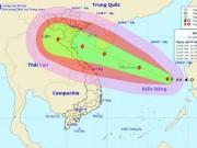 Tin tức trong ngày - Bão số 10 tăng cấp khủng khiếp, nhắm thẳng vào Thanh Hóa-Hà Tĩnh
