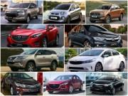 Tư vấn - 10 mẫu ô tô bán chạy nhất Việt Nam tháng 8/2017