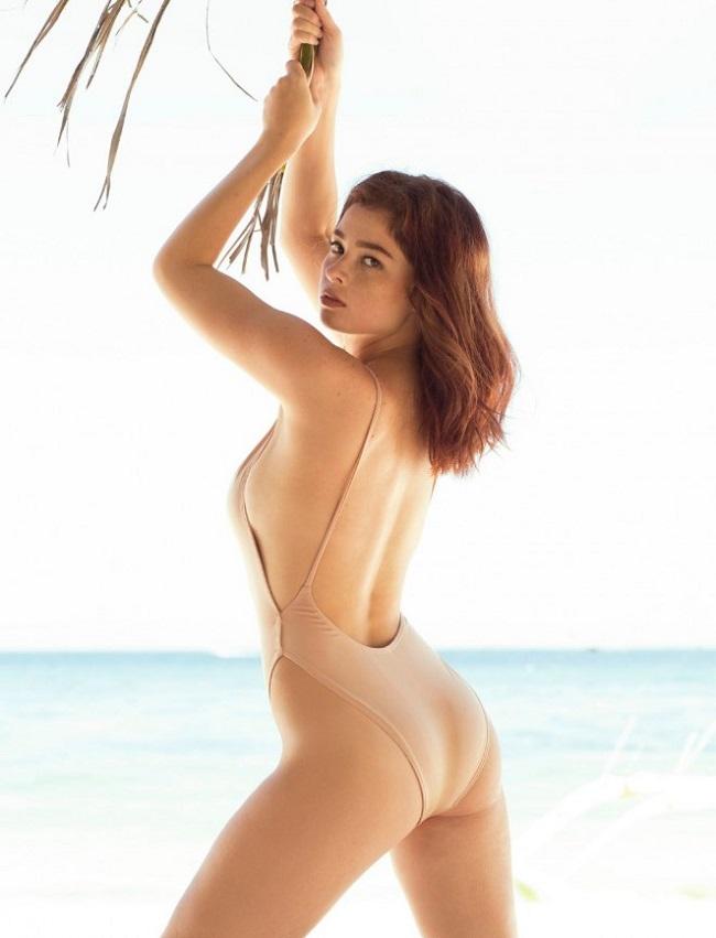 Người mẫu Andi Eigenmann (sinh năm 1990) xuất hiện trên tạp chí đàn ông FHM Philippines hồi tháng 5.2016.