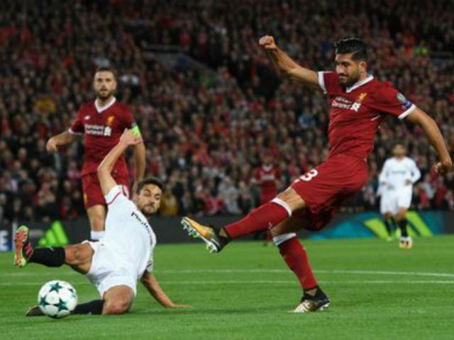 Video, kết quả bóng đá Liverpool - Sevilla: Thảm họa thẻ đỏ, hỏng phạt đền