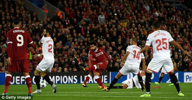 Liverpool - Sevilla: Thảm họa thẻ đỏ, hỏng phạt đền - 1